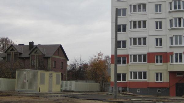Жилые дома в микрорайоне «Малиновка» г. Минска