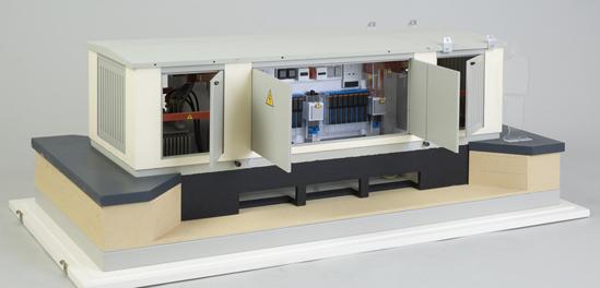 КТПН – комплектные трансформаторные подстанции наружной установки